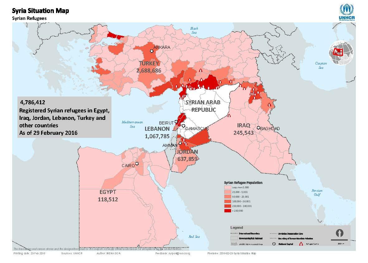 SyriaSituationMapasof29Feb2016