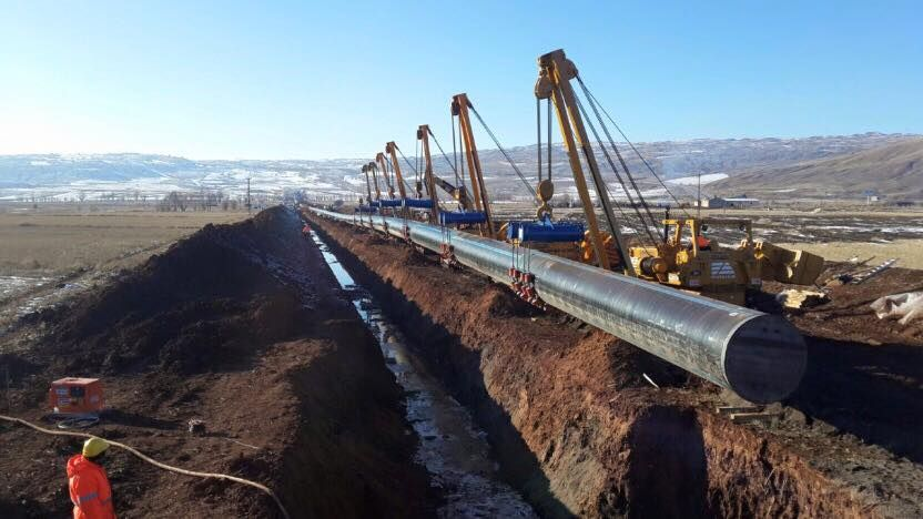 TANAP gas pipeline зурган илэрцүүд